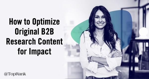 Optimize Original Research Content