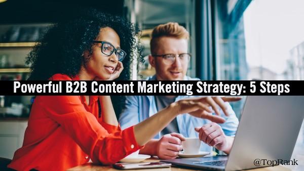Powerful B2B Content Marketing Strategy