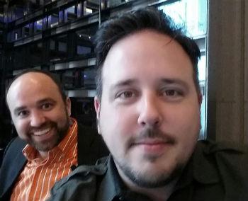 Jason Miller selfie