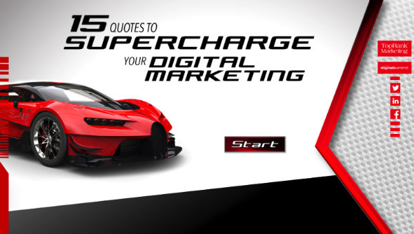 Supercharge Digital Marketing Infographic
