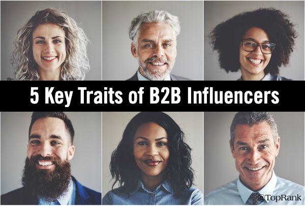 Traits B2B Influencers