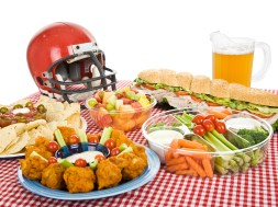 Super Bowl Sunday Food Today