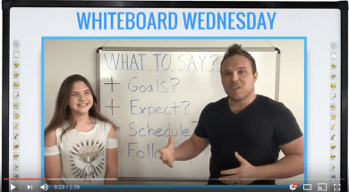 What to say to new leads? Whiteboard Wednesday | Brad Smith | HylthLink