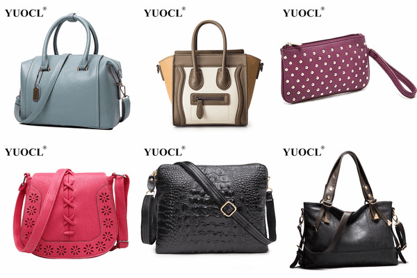 YUOCL Aliexpress luxury brand bags review.