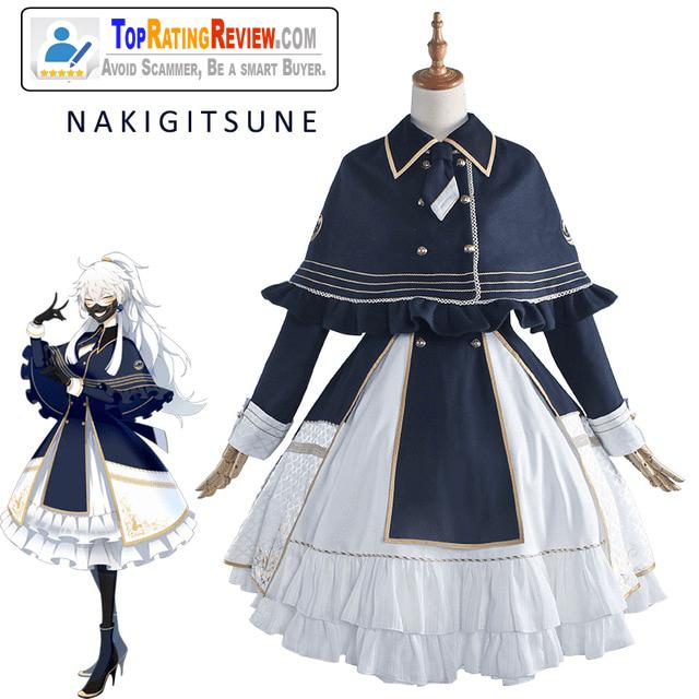 Nakigitsune Cosplay Kawaii version Anime Costumes for women Doujin