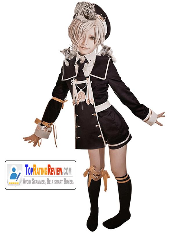 Touken Ranbu anime cosplay costumes -Gokotai Black Suit Anime costumes