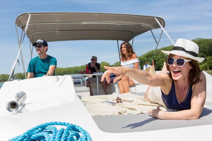 Le Boat - Fun deck