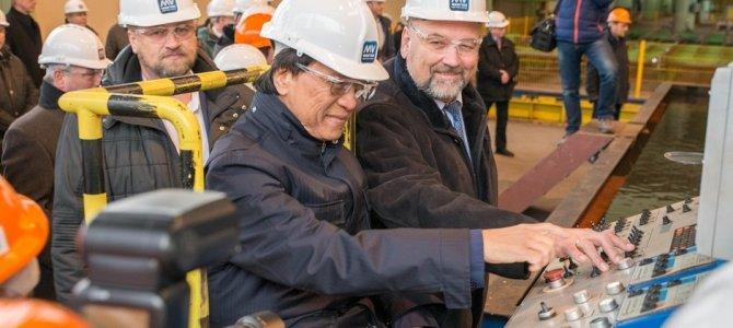 Se inicia la construcción de dos barcos fluviales para Crystal River Cruises