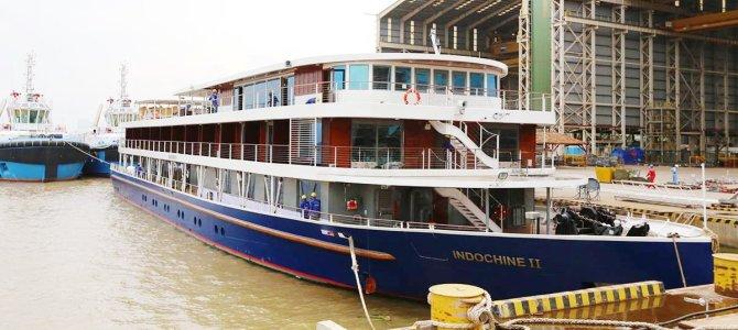 Croisieurope lanza su nuevo barco RV Indochine II para el Mekong