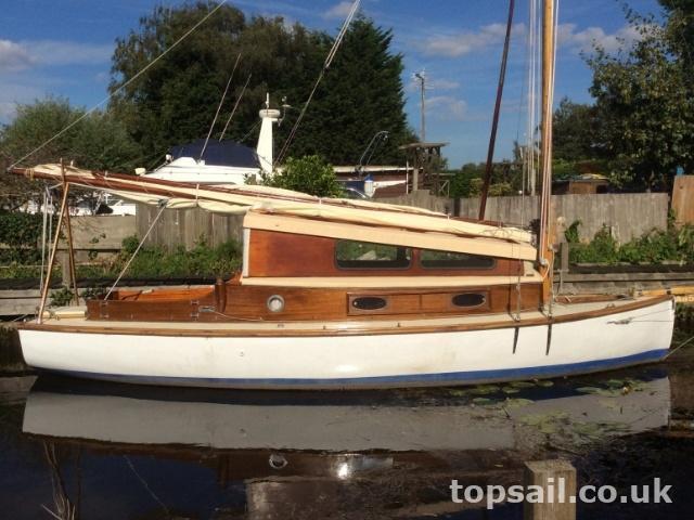 Waif Class River Cruiser Topsail Marine Yacht Brokers 1867
