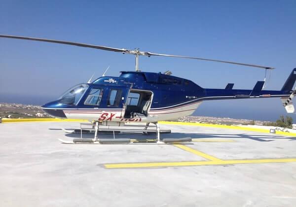 Santorini Semi-Private Helicopter Tour