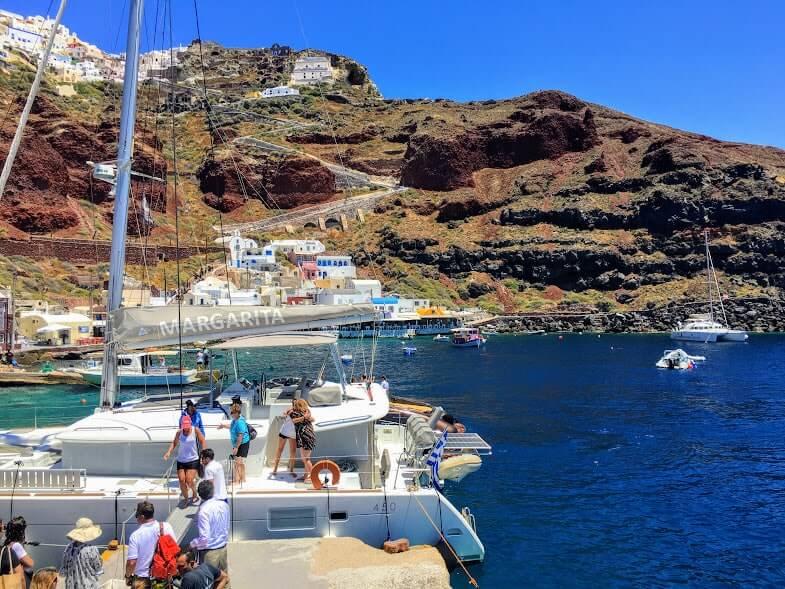 Santorini Half Day Cruise