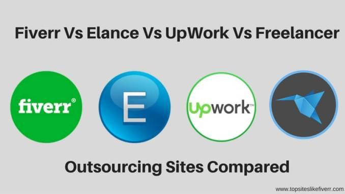 Fiverr Vs UpWork Vs Elance Vs Freelancer (1)