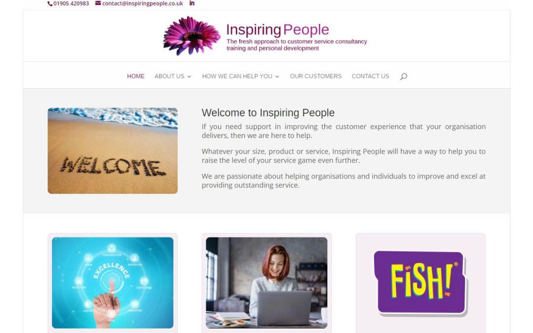 Inspiring People – redesign