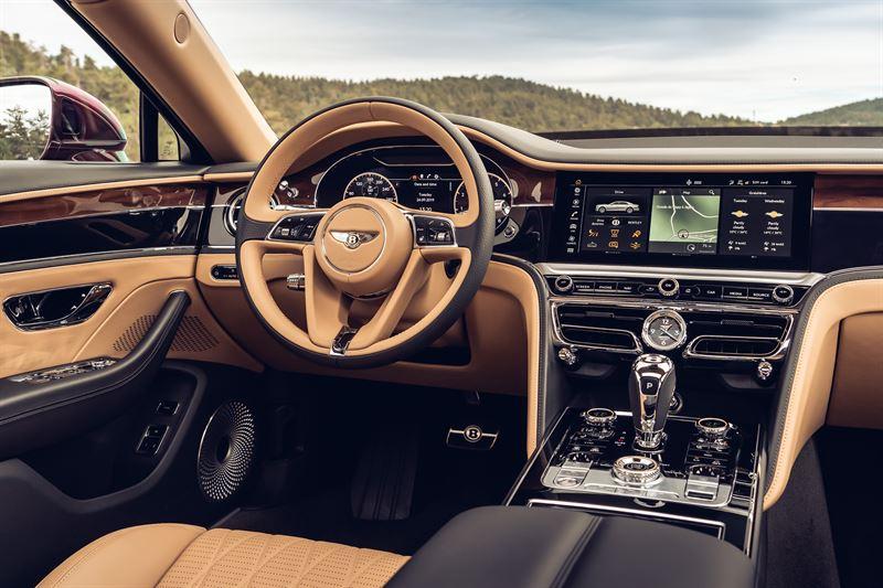 Flying Spur: Bentleyn kääntyvä näyttö