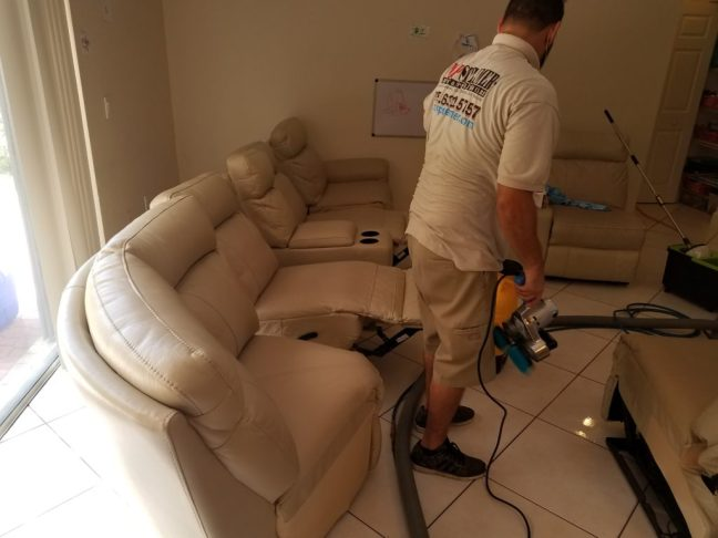 Leather Sofa Cleaning Doral