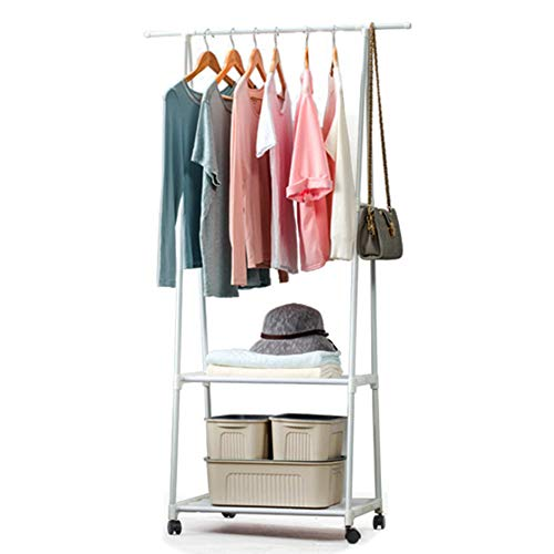Galapara Clothing Garment Rack Triangle Coat Rack Steel Tube Removable Large Capacity Hanging Clothes Tree Quilt Shoes Bags Boxes Hanger Stand Organizer for Home Office Bedroom