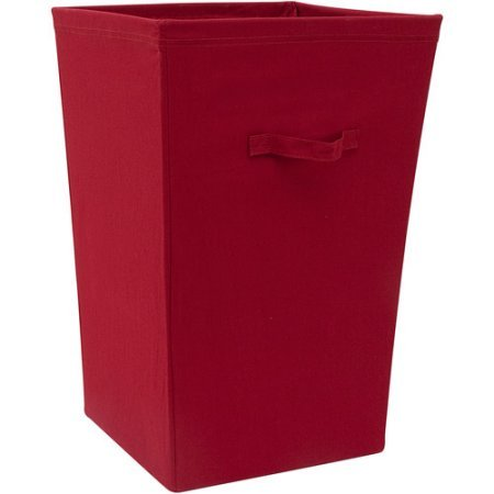 Natural Large Hamper Red Sedona Laundry Storage Container