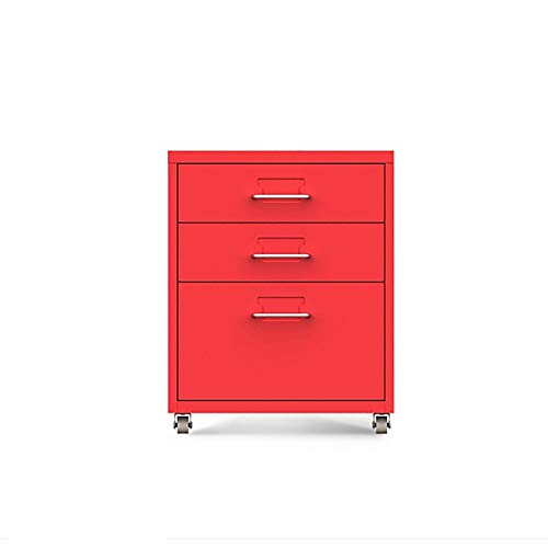 File Cabinets HLR 6-Layer Drawer Type Mobile Storage Metal Metal Storage Cabinet Data Commercial Vertical Used for Office Study Family