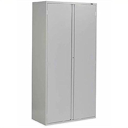 Scranton Co 2 Door Metal Storage Cabinet in Light Gray