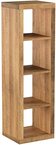 Better Homes and Gardens Furniture 4-Cube Room Organizer Storage Bookcases Weathered 4-Cube