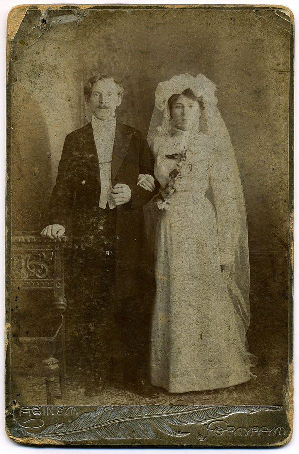 Formal Wedding Seating Plans From The 1900s