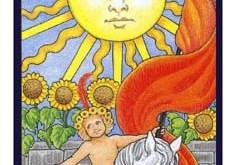 El arcano del sol del tarot
