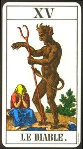 Cartas del tarot: el diablo