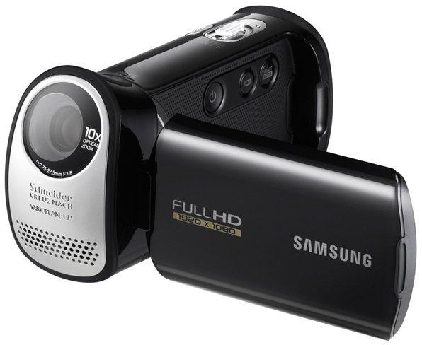 Samsung HMX-T10, video comercial