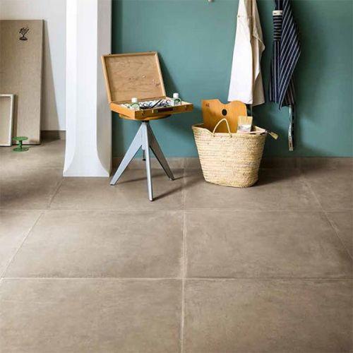 Beige betonlooktegels te koop bij Top Tegel 04
