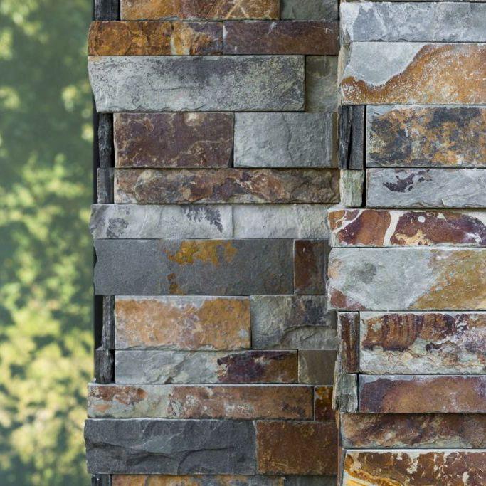 Steenstrips in natuursteen koop je bij top tegel 04 - Imitatie natuursteen muur tegel ...