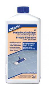 onderhoudsreiniger van Lithofin voor keramische tegels
