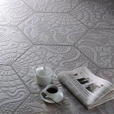 Op het tegel blog van Top Tegel 04 tonen we je deze trend in tegels: Hexagonale tegels.