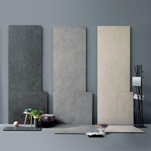 XXL tegels, dunne tegels van 6mm of renovatietegels als wandtegels of vloertegels.