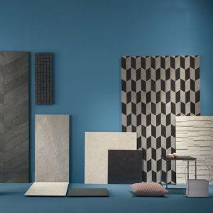 moddboard in keramische tegels en mozaiek