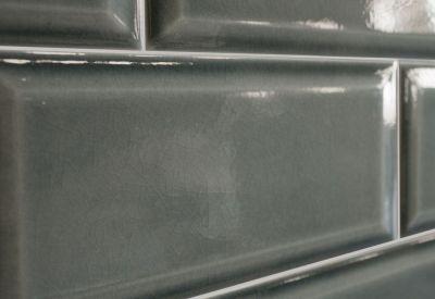 Grijze metrotegels in de tegeloutlet kleur smoke