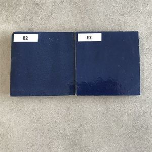 Zelliges in marine blauw of navy blauw