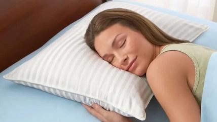 Risultati immagini per buon cuscino per dormire