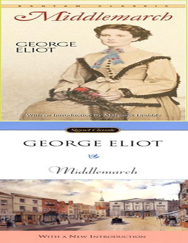 Middlemarch book cover photo