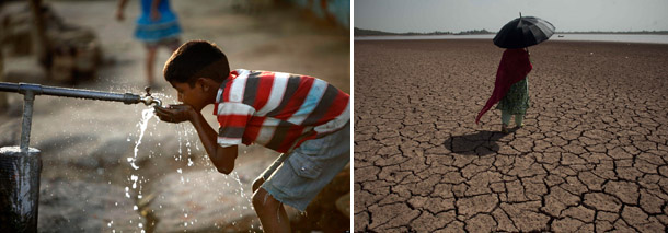 countries list water crisis