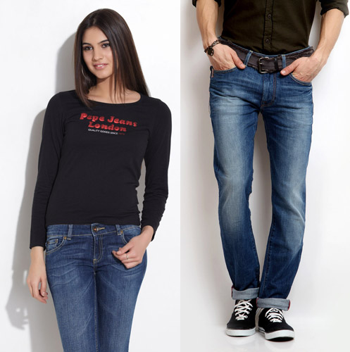 top ten jeans brands in india
