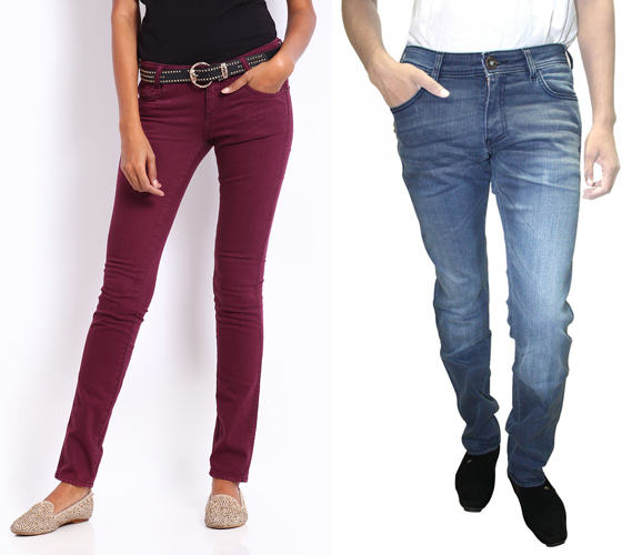 indian top jeans brands