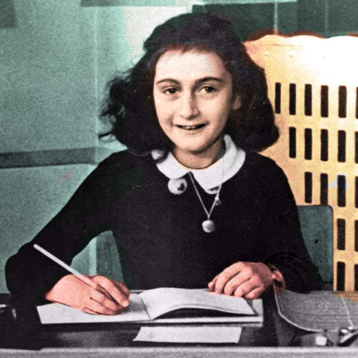 Anne Frank famous poeple in world