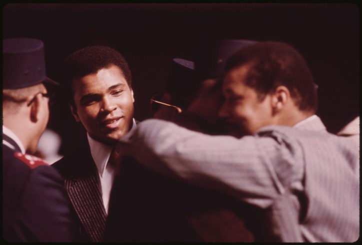 world most famous people ali boxer