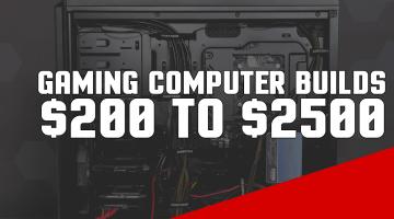Top 10 Custom Gaming Computer Builds 2017