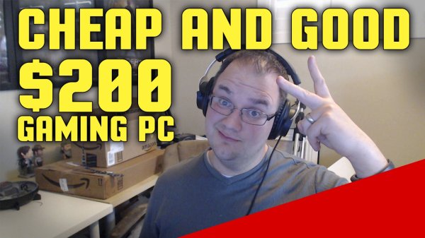 Is a Good Under $200 Gaming PC Build Possible in 2017?