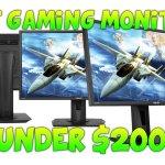 5 Good Budget Gaming Monitors Under $200 2017