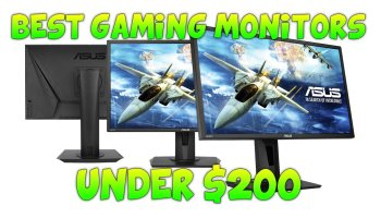 best monitor for video editing 2018 under 200