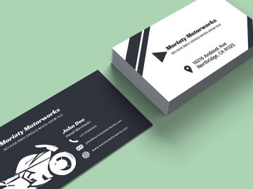 10 Automotive Business Card Templates Fully Customisable Online