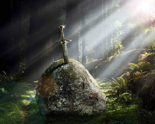 Excalibur-sword-in-the-stone